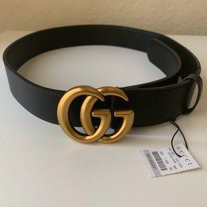 ûNew Gucci Belt Âüthéntïć Double G Marmot